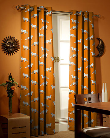 Prestigious Fox Umber Curtains