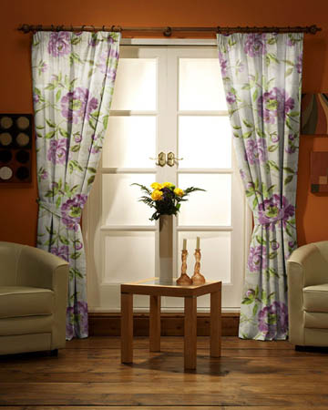 Prestigious Full Bloom Lavender Curtains