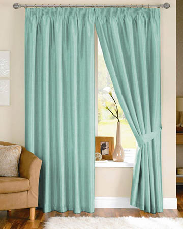 Prestigious Gem Aqua Curtains