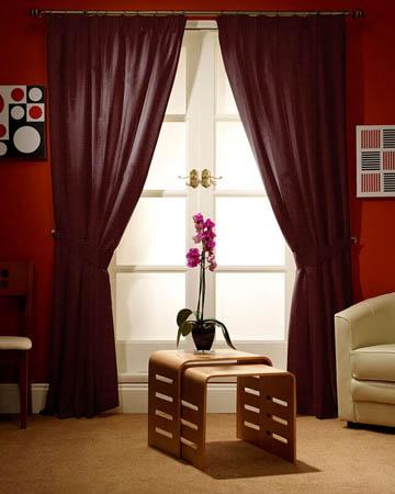 Prestigious Gem Grape Curtains