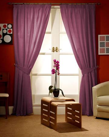 Prestigious Gem Lavender Curtains