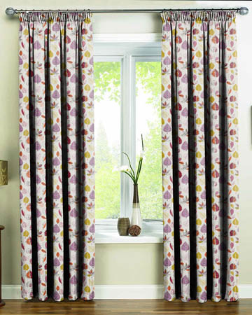 Prestigious Maple Amethyst Curtains