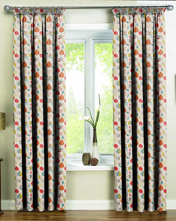 Prestigious Maple Cinnamon Curtains