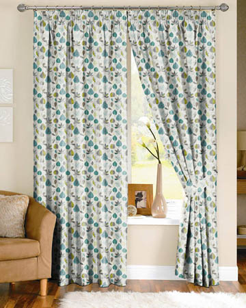 Prestigious Maple Teal Curtains