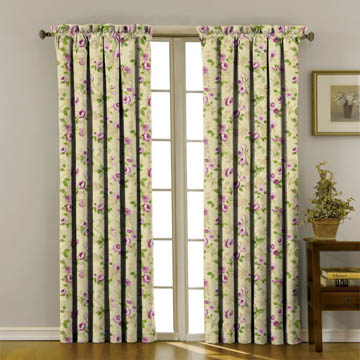 Prestigious Melrose Mulberry Curtains