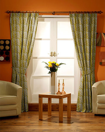 Prestigious Morella Sulphur Curtains