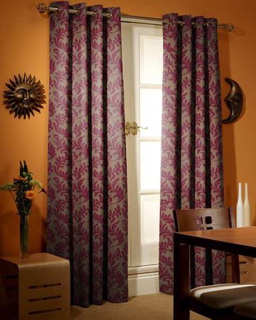 Prestigious Oracle Plum Curtains