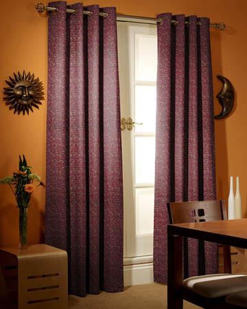 Prestigious Oregon Plum Curtains