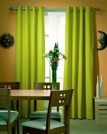Prestigious Panama Avocado Curtains