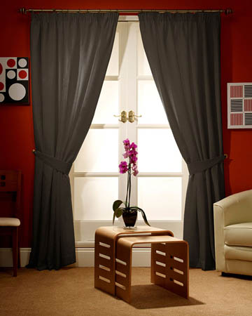 Prestigious Panama Chocolate Curtains