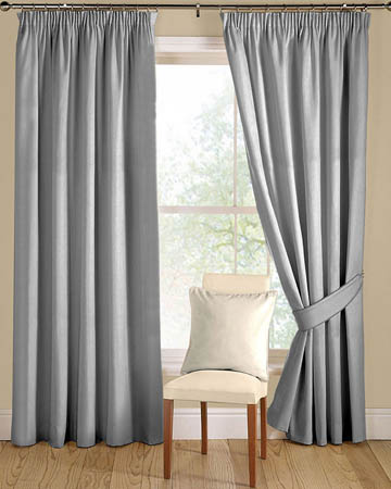 Prestigious Panama Grey Curtains