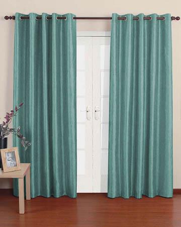 Prestigious Polo Aqua Curtains