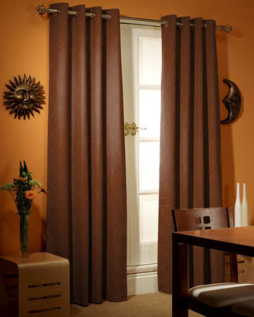Prestigious Polo Chocolate Curtains
