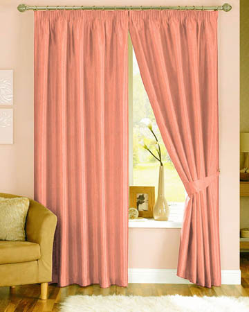 Prestigious Polo Peach Curtains