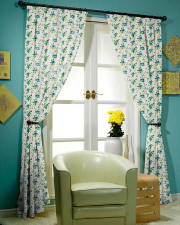 Prestigious Rosebud Ink Curtains