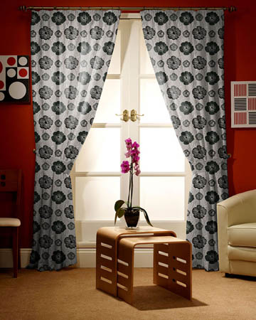Prestigious Sardinia Graphite Curtains