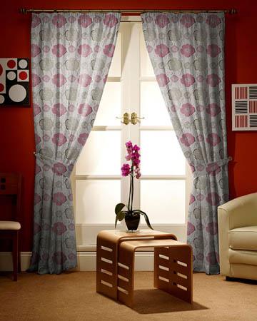 Prestigious Sardinia Rosebud Curtains