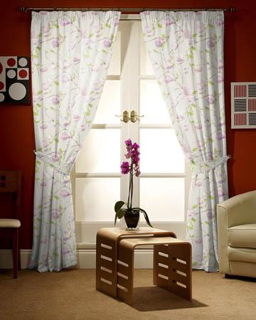 Prestigious Sayuri Lavender Curtains