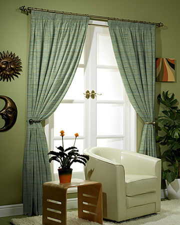 Prestigious Selma Lime Curtains