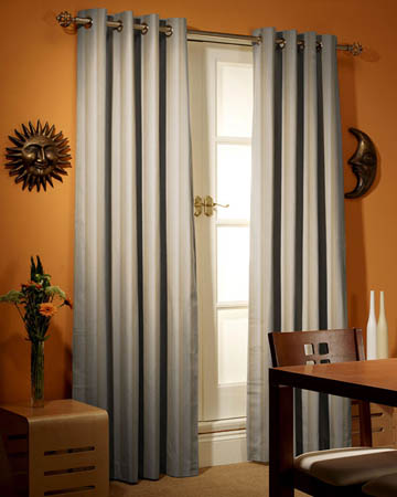 Prestigious Solar Stripe Natural Curtains