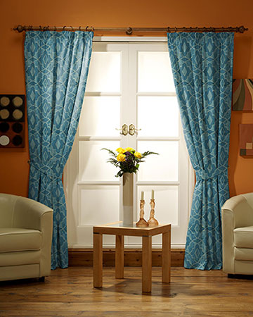 Prestigious Sphinx Teal Curtains