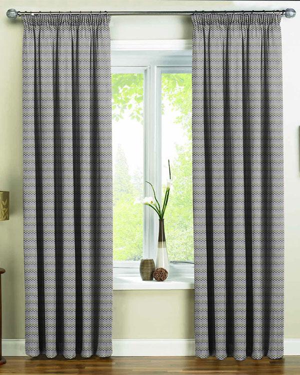 Prestigious Textiles Zag Zig Eucalyptus Curtains Blinds Uk