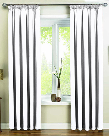 Provence White Curtains