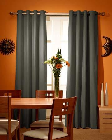Sandhurst Green Curtains