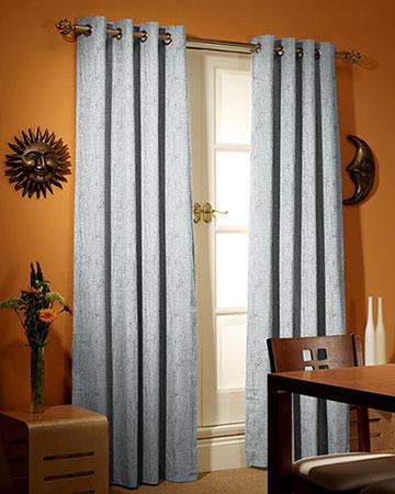 Studio G Birch Silver Curtains