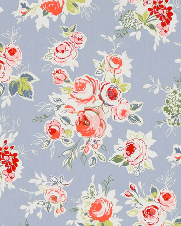 Studio G Rose Garden Chambray Curtains