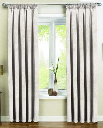 Tissu Cocoon Jaccard Gris Curtains