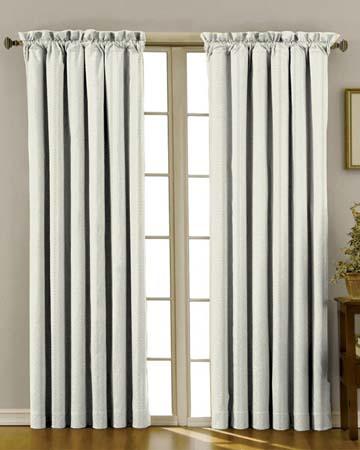 Tissu Stanford Rayure Gris Curtains