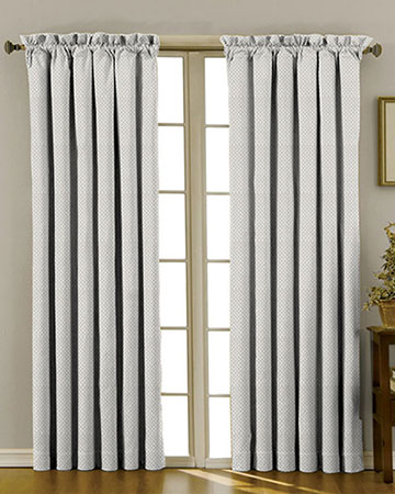 Tissus Berlin Damier Perle Curtains