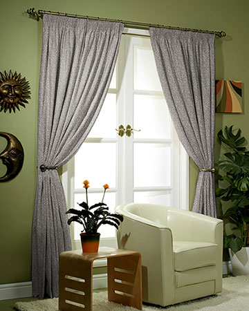 Tissus Paso Doble Uni Taupe Curtains