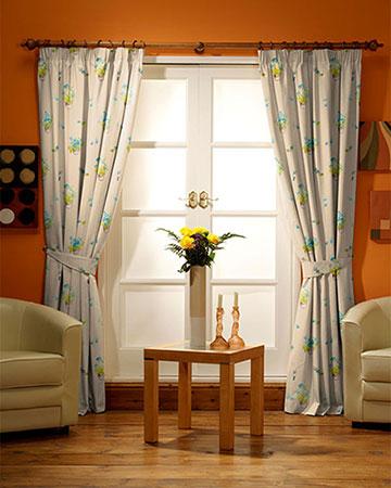 Verano Pot Bleu Curtains