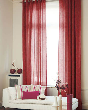 Sheer Curtains, Voile Fabric Curtains - Blinds UK