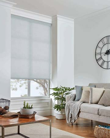 Atlantex ASC Silver Roller Blinds
