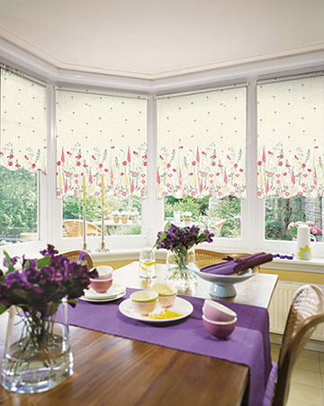 Louvolite Country Garden Summer Daze Roller Blinds