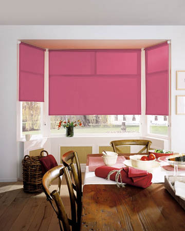 Casimir Magenta Roller Blinds