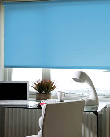 Eclipse Palette Blue Roller Blinds