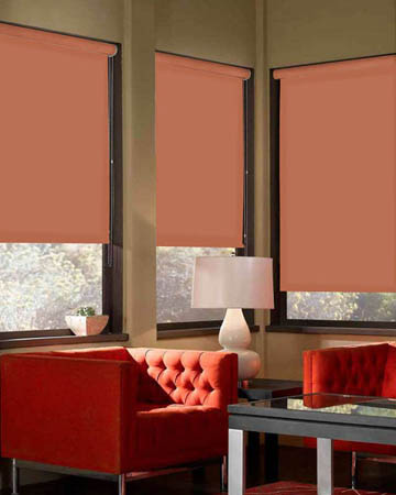 Eclipse Palette Copper Roller Blinds