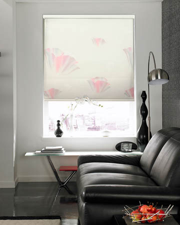 Cordless Gershwin Bianco Roller Blinds