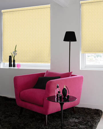 Louvolite Aura Gold Roller Blinds
