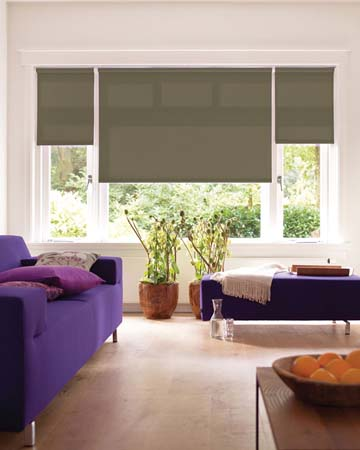 Louvolite Banbury Oatmeal Roller Blinds
