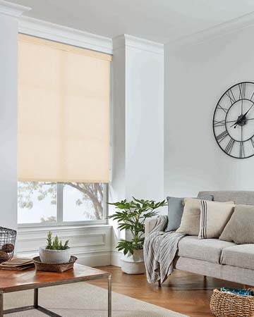 Louvolite Carnival Cream Roller Blinds