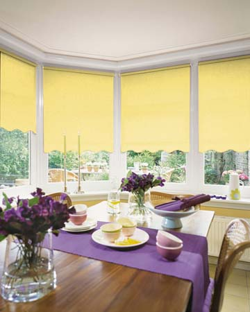 Louvolite Ritz Blonde Roller Blinds