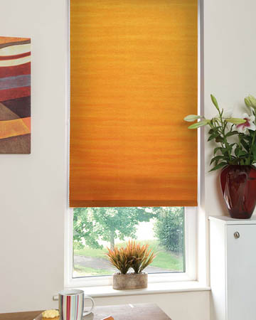 Vignette Terracotta Roller Blinds