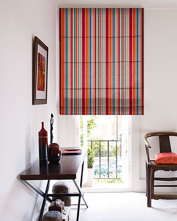Clarke & Clarke Alawi Sunset Roman Blinds
