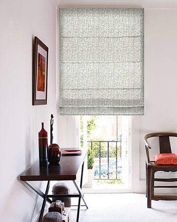 Clarke & Clarke Anguilla Natural Roman Blinds