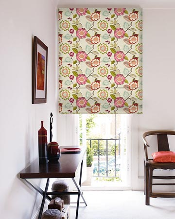 Clarke & Clarke Beaulieu Summer Roman Blinds